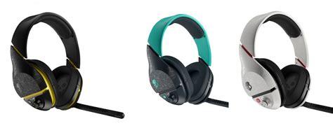 Headphone Navi Skull Plyr2 Headphone White Black Navi Teal Colors