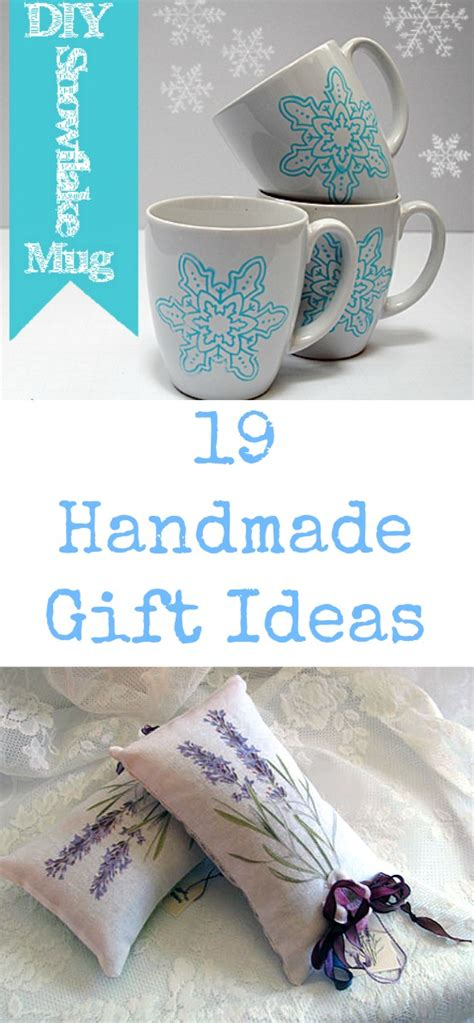 Handcrafted Gift Ideas - 19 handmade gift ideas the graphics