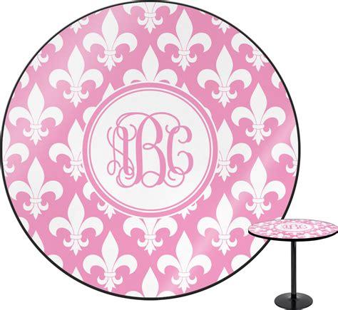 fleur de lis table l fleur de lis round table personalized youcustomizeit