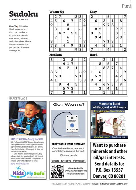 comfortably warm crossword clue january 2016 by southwest the magazine page 89 issuu