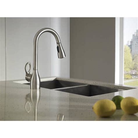 moen ca87011srs kleo kitchen faucet with pull spout