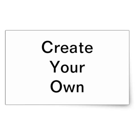 make your own templates make my own templates stickers zazzle