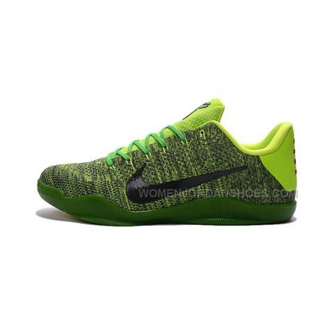 green nike basketball shoes nike 11 elite black green basketball shoes for sale