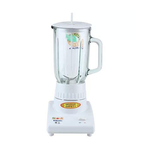 Mixer Tangan Merk Miyako jual miyako bl 101gs blender putih harga