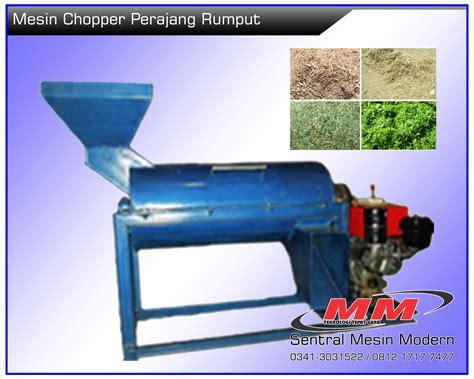 Mesin Pencacah Rumput Halus jual mesin perajang rumput chopper sentral mesin modern