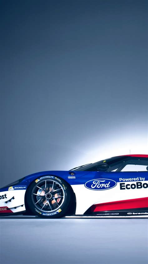 Car Wallpaper Vertical by Wallpaper Ford Gt Race Car 24 Hours Of Le Mans Cars