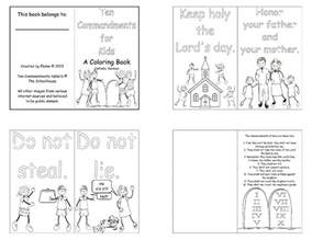 10 commandments coloring page ten commandments for commotion from the of