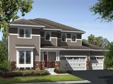 edgewater single family home floor plan in woodbury mn