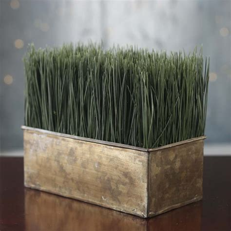 Wheat Planter artificial wheat grass planter on sale home decor