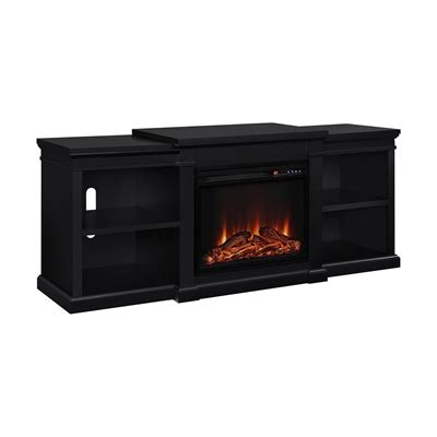 tv stand with fireplace lowes ameriwood home manchester electric fireplace tv stand lowe s canada