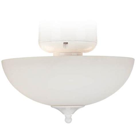 cfl ceiling fan bulbs white glass cfl white finish ceiling fan light kit