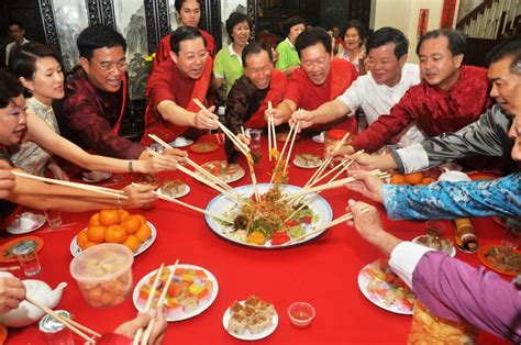 new year dinner malaysia penang new year cultural heritage celebration