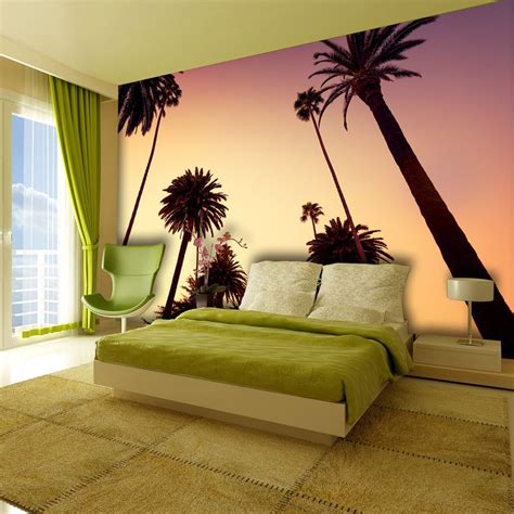 1wall tree wallpaper mural 1wall california palm tree wallpaper mural achica palms trees california