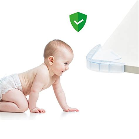 mekudos corner guards  pack baby proofing clear