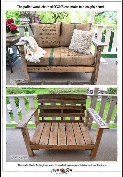 Pallet Cushions Diy by Diy Pallet Chair Made To Fit Cushions Pallets