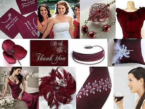 burgundy inspiration boards and maroon wedding on