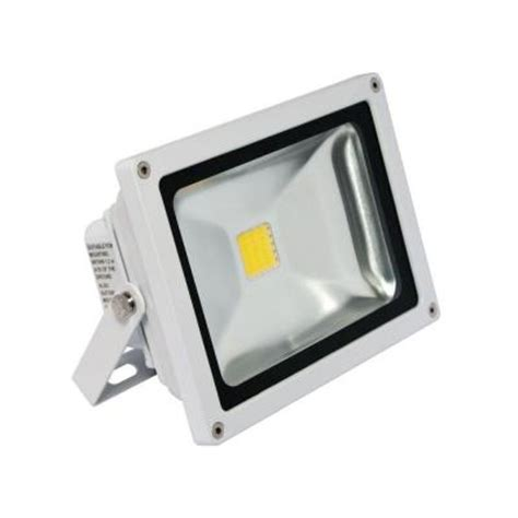 Outdoor Wall Mounted Flood Lights Irradiant 1 White Led Soft White Outdoor Wall Mount Mini Flood Light Fl 201 30 Wh The