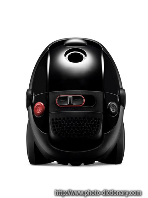 meaning of vaccum black vacuum cleaner photo picture definition at photo