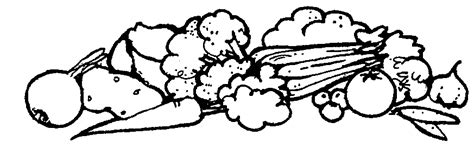 vegetables clipart black and white black white clipart vegetable pencil and in color
