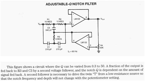 notch filter integrated circuit notch filter integrated circuit 28 images patent us8436679 low frequency notch filter