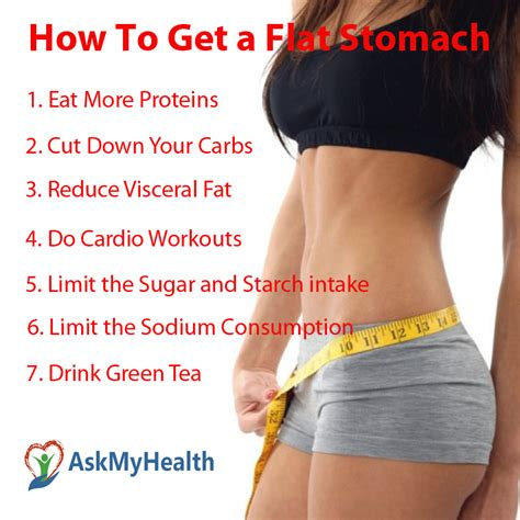how to get a flat stomach in a week 7 tips to reduce