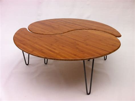 Nest Of Coffee Tables Modern Yin Yang Nesting Large Coffee Table Mid Century Modern