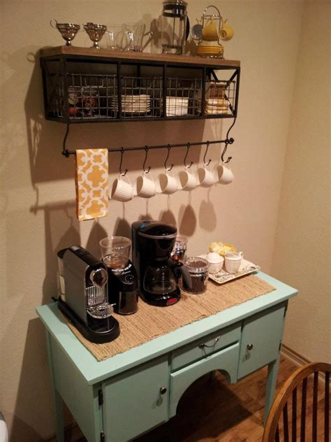 kitchen coffee bar ideas sea legs diy coffee bar