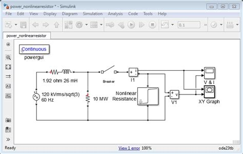 nonlinear capacitor model simulink building and customizing simscape power systems models matlab simulink