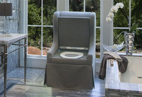 Toilet Desk Chair by Upholstered Chair Toilet From Toilechic Today S Homeowner
