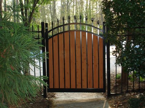 ideas for decorative fence gate fence ideas