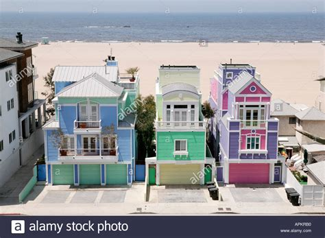 buy a house usa colorful houses by the beach santa monica los angeles