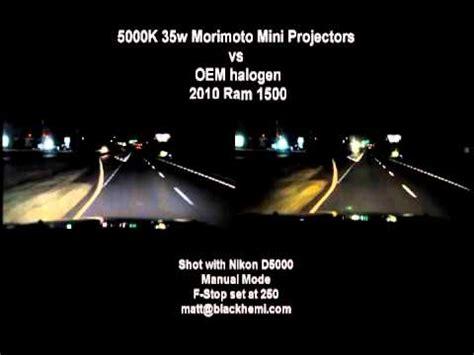 stock halogen bulbs vs hid projectors how to save money