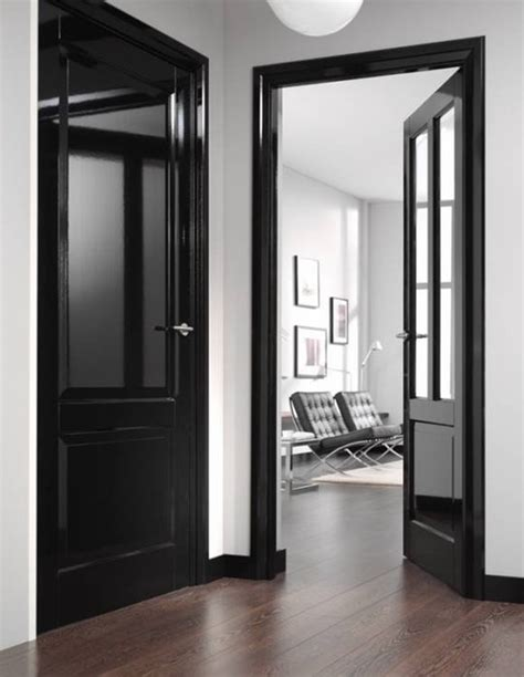 design paint your trim black apartment therapy