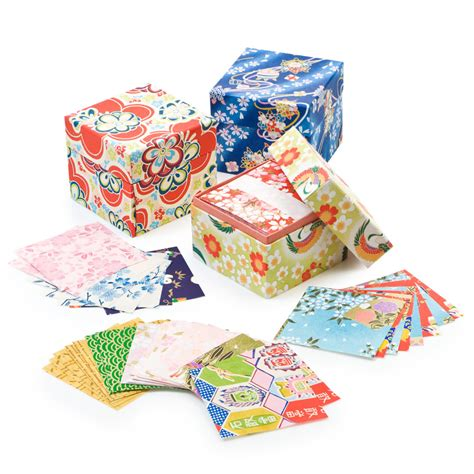 Washi Origami - box of washi origami paper