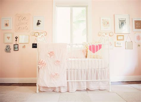 pink baby nursery blushing pink nurseries project nursery