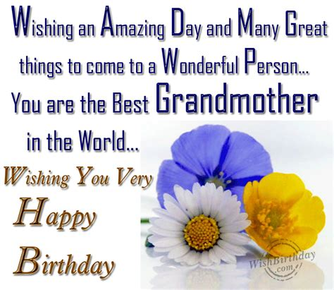 Birthday Quotes For Grandparents Grandmother Birthday Quotes Quotesgram