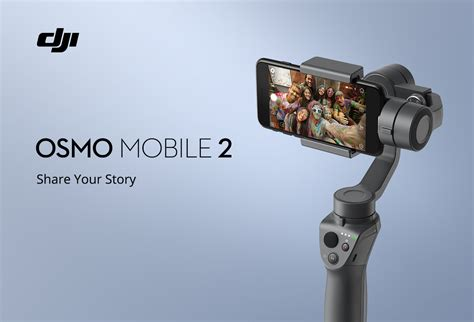 dji introduces  osmo mobile  gimbal  phones