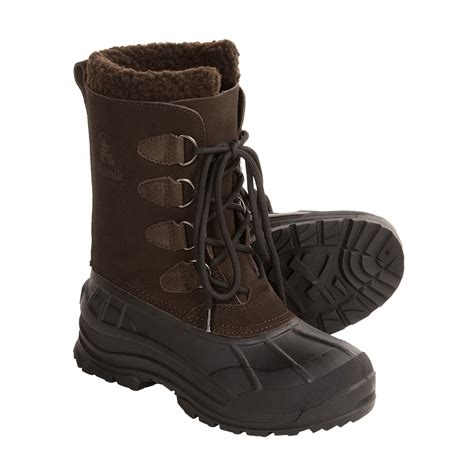 womens waterproof boots kamik conquest winter pac boots for 2649r save 52