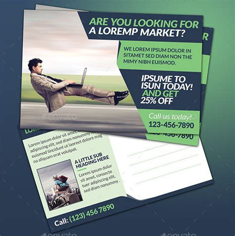 marketing postcard templates postcard marketing template 20 free word psd vector
