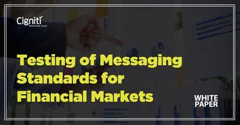 E Solution Financial Standar Program Sertifikasi Internasional white paper testing of messaging standards for financial markets