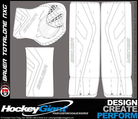 pads glove templates the goalie archive