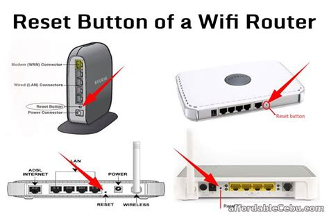 resetting wifi modem how to reset globe wifi router computers tricks tips