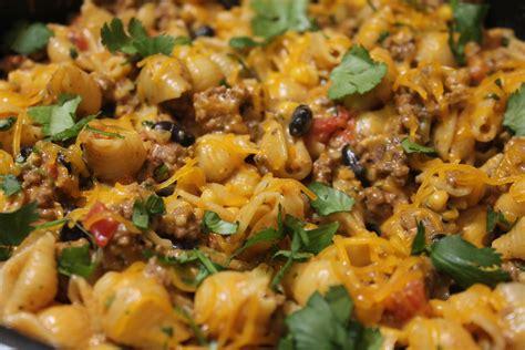 cheesy southwestern pasta skillet  heart recipes