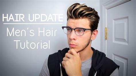 hair styles with one inch hair for men updated hairstyle men s hair tutorial for long hair
