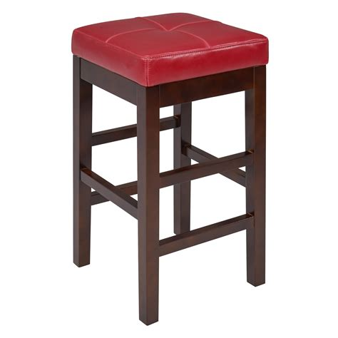 Valencia Backless Counter Stool by Valencia Square Backless Counter Stool Colors