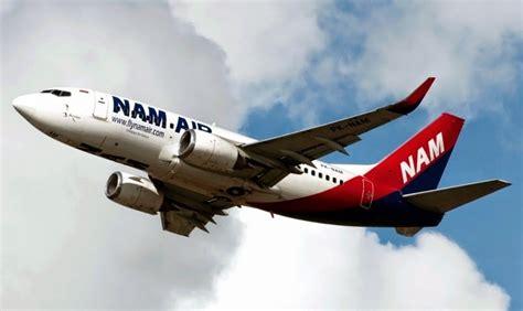 Resmi Air 2 Indonesia nam air resmi terbangi jakarta banyuwangi