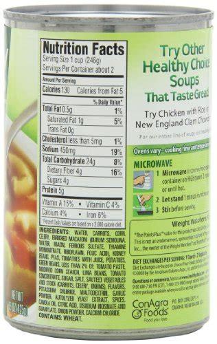Healthy Choice Garden Vegetable Soup Healthy Choice Garden Vegetable Soup 15 Ounce Units Pack