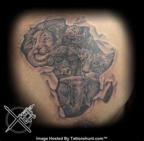 tattoo wild animal african queen tattoos african warrior tattoos african