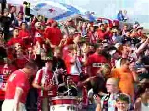 section 8 fire chicago fire home opener section 8 fans youtube