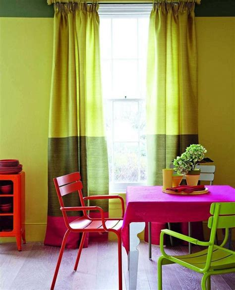 Colorful Dining Room by 39 Bright And Colorful Dining Room Design Ideas